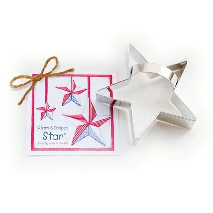 Stars and Stripes - Star Cookie Cutter 4 1/2 inches