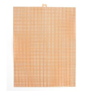 Taupe 7 Mesh 10.5 x 13.5 inch Plastic Canvas Sheet