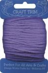 Lilac - Craft Trim Acrylic Yarn - 20 yards