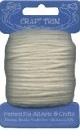 Natural - Off White - Acrylic Yarn - 20 yard