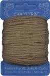 Light Brown Acrylic Yarn - 20 yard