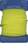 Bright (Hot) Yellow Acrylic Yarn - 20 yard