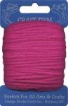 Dark Pink Acrylic Yarn - 20 yard