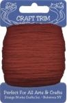 Red Acrylic Yarn - 20 yard