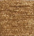 Gold Glitter Crafting Cord - 10 Yards