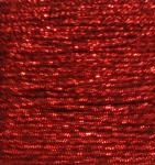 Red Glitter Crafting Cord - 10 Yards