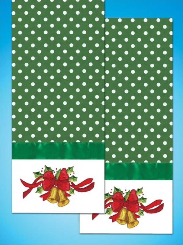 Bells - Kitchen Towel - 18 x 28 inches