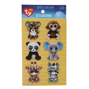 ty  Beanie Boo Jungle Wiggle-Eye Stickers