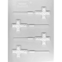 Easter Crosses Lollipop Sheet Mold - From LorAnn Oils