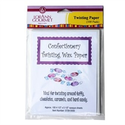 Twisting Wax Paper - 100 Sheet Pack - LorAnn Gourmet