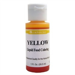 Yellow - LorAnn Gourmet Liquid Food Color 1 oz
