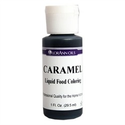 Caramel - LorAnn Gourmet Liquid Food Color 1 oz
