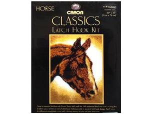 Horse - Caron Classic Latch Hook Kit 20 x 30 inch