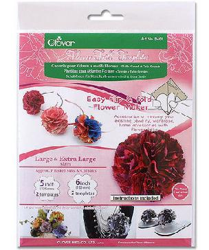 Flower Frill Templates Large & Extra Large