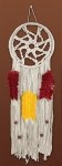 Colorful Dreamcatcher Macrame' Wall Hanging Kit 8 x 24 inch