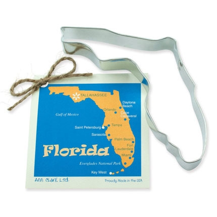 Florida State Cookie Cutter 6 inch