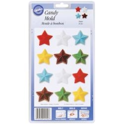 Wilton Candy Mold - Stars 12 Cavity