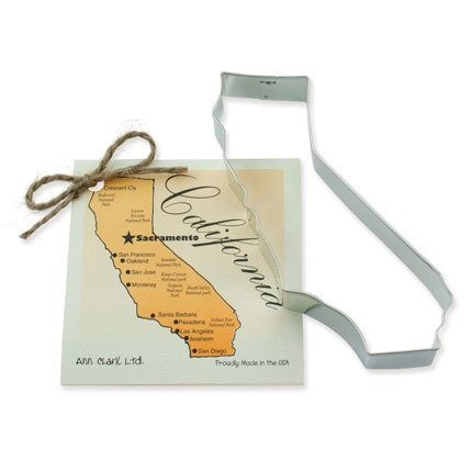 California State Cookie Cutter 6 inch