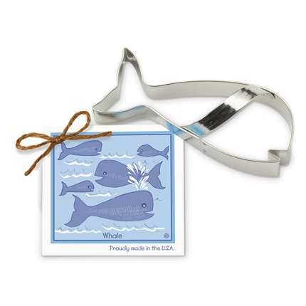 Whale Cookie Cutter 5 1/2 inch