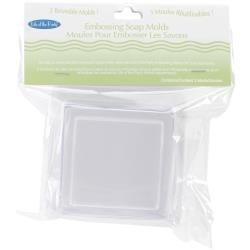 Soap Embossing Mold 3/Pkg - Square