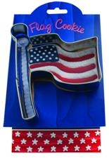 Flag - Make More Cookies Cookie Cutter