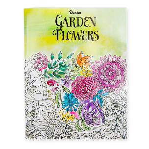 Darice Adult Coloring Book - Garden Flowers - 32 pages