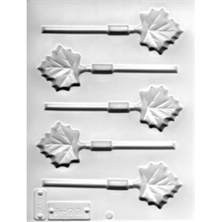 Maple Leaves Lollipop Sheet Mold - From LorAnn Oils
