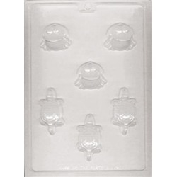 Frogs and Turtles Soap and Candy Mold - LorAnn