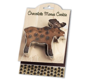 Moose, Chocolate - Make More Cookies Cookie Cutter