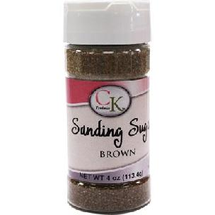 Brown CK Sanding Sugar - 4 oz