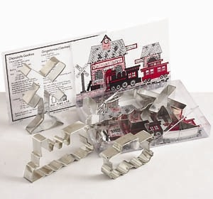 All Aboard Cookie Cutter Set