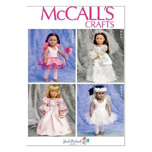 Fairy and Princess for 18 inch Doll - McCall's Pattern M6981