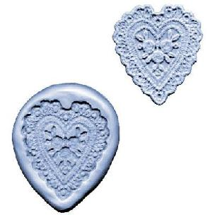 Heart Lace-Maker Silicone Mold