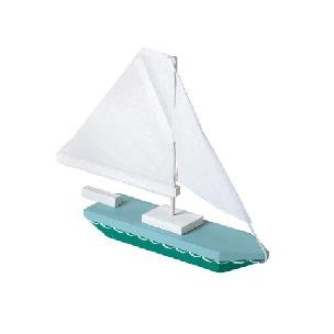 Sailboat - Wood Model Kit - 7 x 6 inches