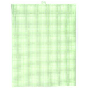 Neon Green 7 mesh plastic canvas sheet 10.5