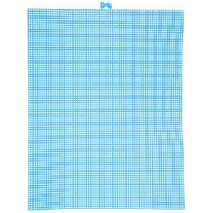 Neon Blue 7 mesh plastic canvas sheet 10.5