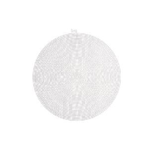 Circle - 12 inches - Clear - Plastic Canvas Shape