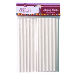 Lollipop Sticks, Large (100 pack) 6 inch