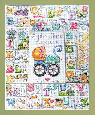 Special Delivery 16 x 20 inch Counted Cross Stitch Kit