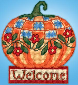 Welcome Pumkin - Wall Decor Kit 13 x 15 inches