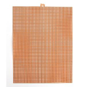 Copper 7 mesh plastic canvas sheet 10.5