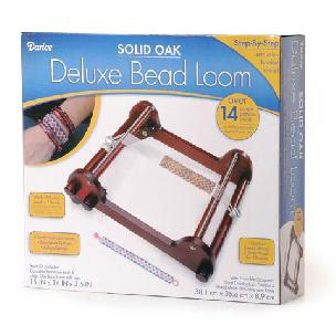 Deluxe Bead Loom - Solid Oak