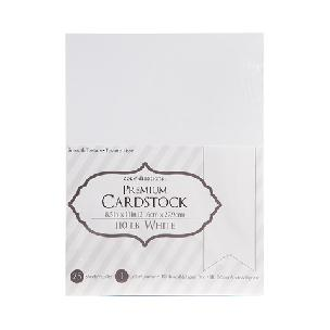 Core'dinations Smooth - Extra Thick - White - 8.5 x 11 - 25 sheets