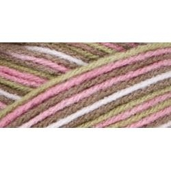 Pink Camo - Red Heart Super Saver Yarn - 5 oz
