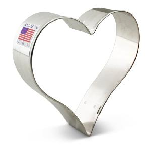Heart Cookie Cutter 3 1/4 inch
