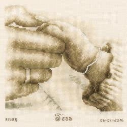 First Tenderness - Counted Cross Stitch Kit 8.25 x 8.25 inches