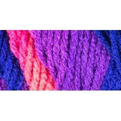Flamenco Stripe - Red Heart Super Saver Yarn - 5 oz