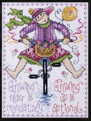 Growing Up - Counted Cross Stitch Kit 5 x 7 inches