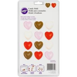 Hearts - Candy Mold - Wilton
