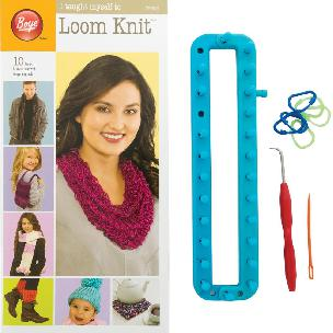 Boye I Taught Myself to Loom Knit Kit